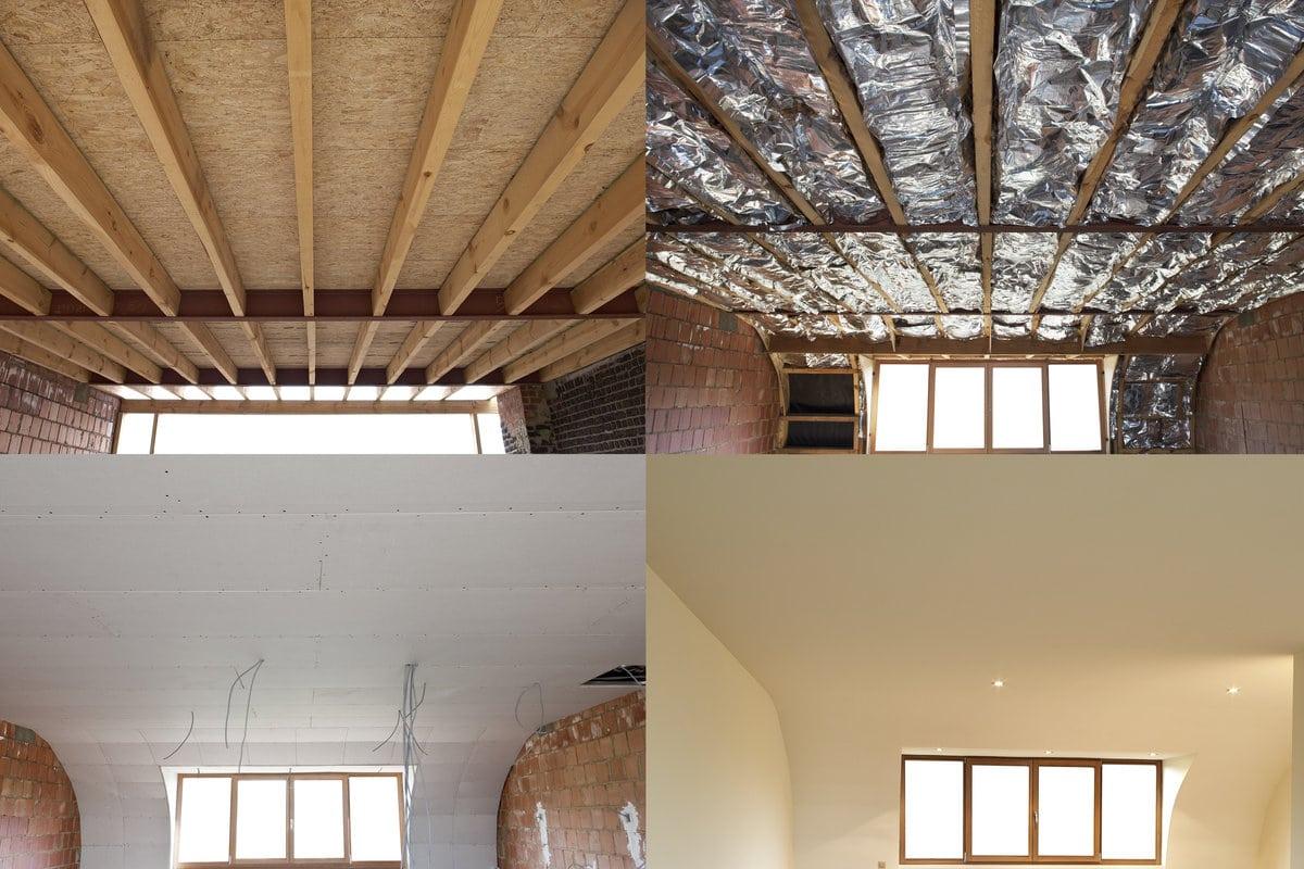 Geluidsisolatie plafond - Plafond heeft de franse ...