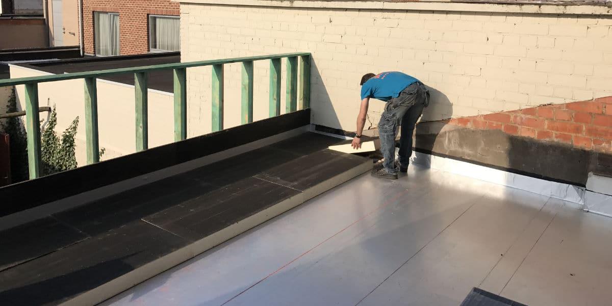 isolatieplaten plat dak