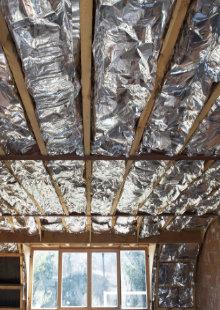 isoleren dak afwerking