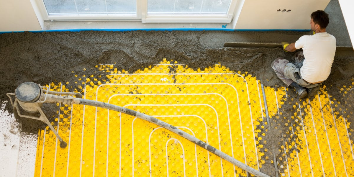 thermische isolatie vloer